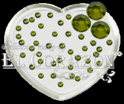 ЭК Стразы стеклянные 100шт/114  SS6-светло-зелёный
