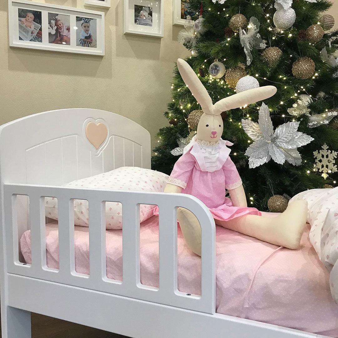 Кровать подростковая Мечта Белая