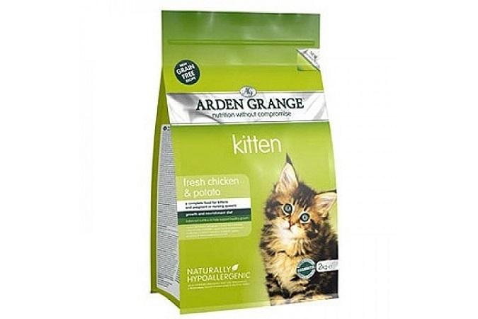 Каталог Беззерновой сухой корм для котят, Arden Grange Kitten Fresh Chicken&Potato, со свежей курицей и картофелем AG611237.jpg