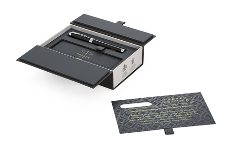 Перьевая ручка Parker Premier  F560, Lacquer Black PT, перо: F123