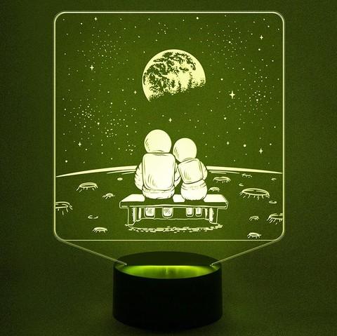 Светильник Космонавты