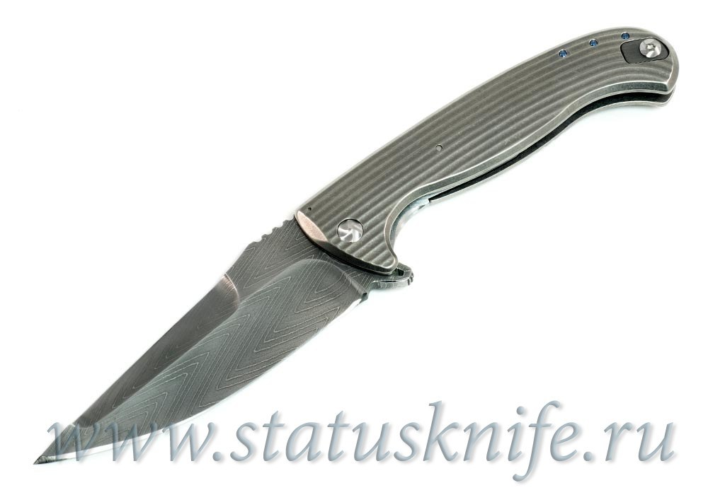 Нож Volcan Damascus - Matt Diskin Custom