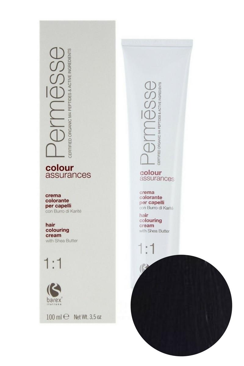Крем-краска для волос 4.0 Каштан Permesse, Barex
