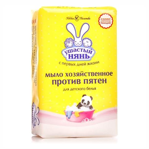 Мыло хозяйственное УШАСТЫЙ НЯНЬ Против пятен 180 гр NC РОССИЯ