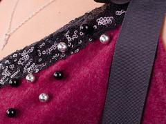 Фенікс. Оригінальна блуза для великих розмірів. Бордо.