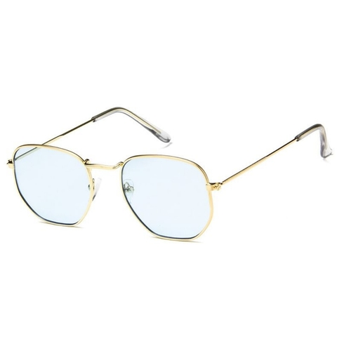 Солнцезащитные очки 3022001s Голубой - фото
