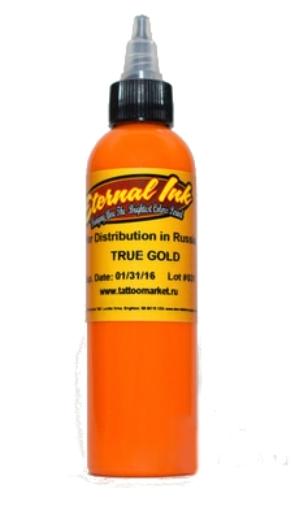 """Краска Eternal """"True Gold"""" для татуировки"""