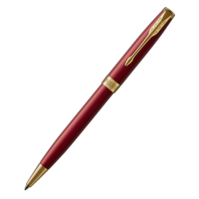 Parker Sonnet Core - LaqRed GT, шариковая ручка, M, BL