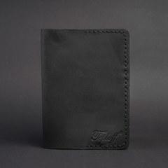 Обкладинка на паспорт, натуральна шкіра, ручна робота