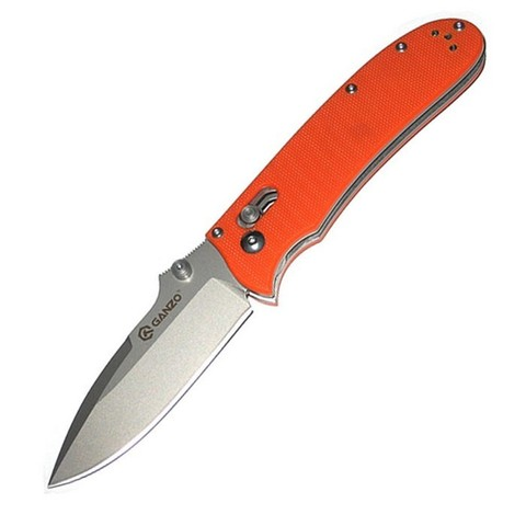 Нож Ganzo G704, оранжевый