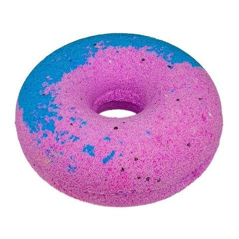 Cafe mimi Гейзер для ванны Чернично-малиновый пончик 140г