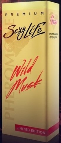 Духи SexyLife Wild Musk жен №1 10мл Molecules