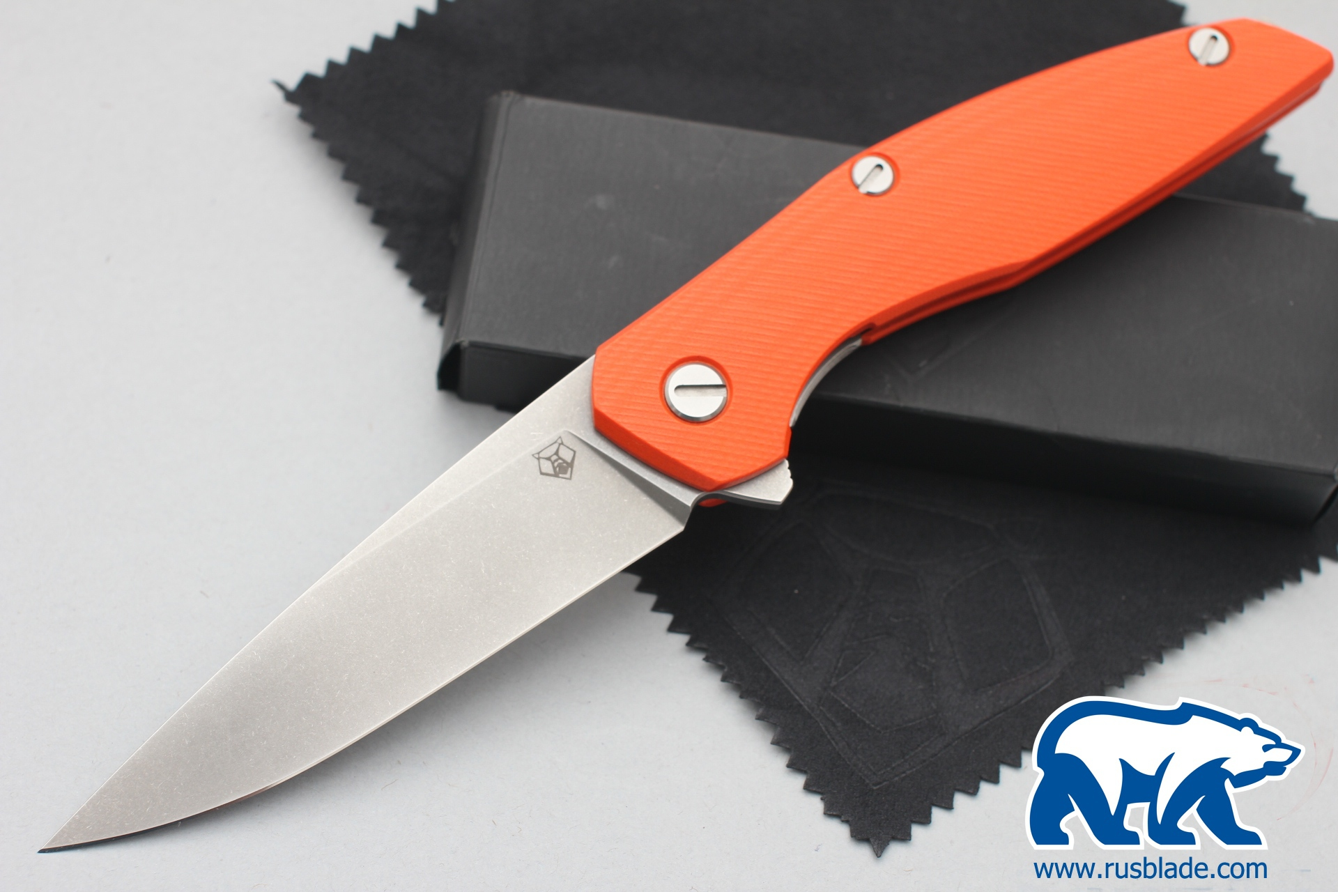 Shirogorov 111 440c G10 3D orange - фотография