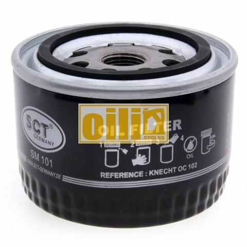Фильтр масляный SCT SM101 (ВАЗ 2108-2110, Sens, Таврия)