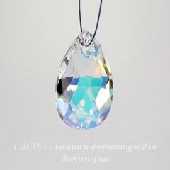6106 Подвеска Сваровски Капля Crystal AB (28 мм)