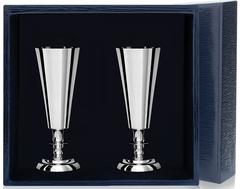 Набор серебряных рюмок №2 из 2 предметов