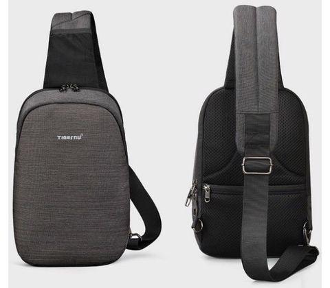 Картинка рюкзак однолямочный Tigernu T-S8061 Black - 2