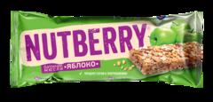 NUTBERRY Батончик мюсли «Яблоко» 26г