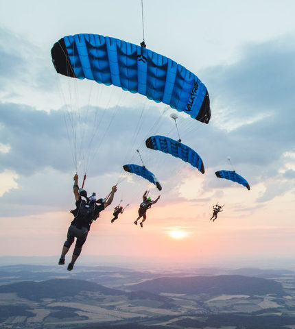 Основной парашют Valkyrie