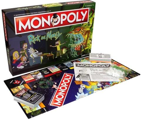 Настольная игра: Монополия. Рик и Морти