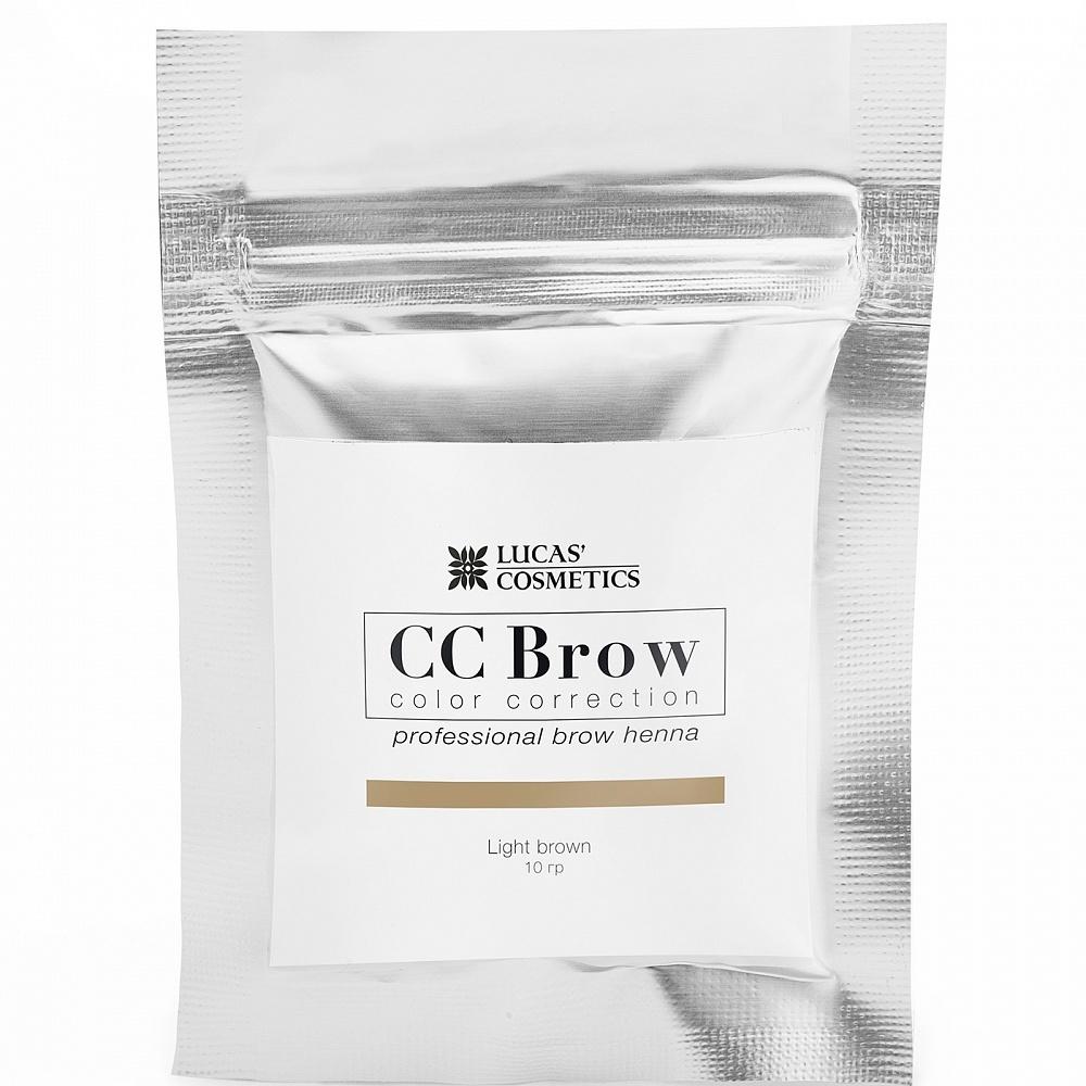 Хна для бровей CC Brow 10гр в саше Light Brown Светло-коричневый