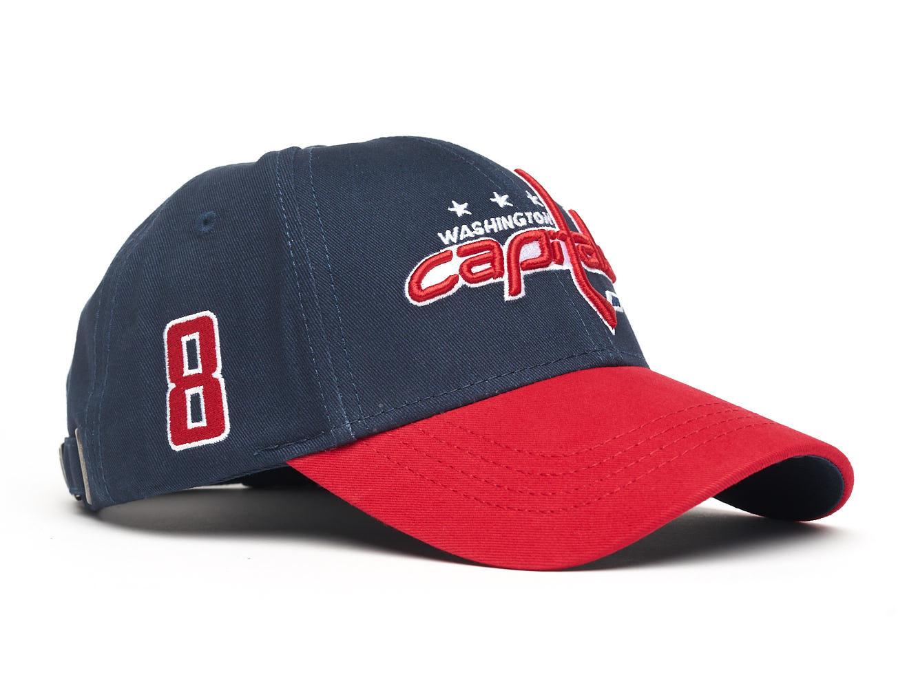 Бейсболка NHL Washington Capitals № 8 (подростковая)
