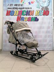 Санки-коляска «Ника Детям 7-8» (арт. НД7-8)