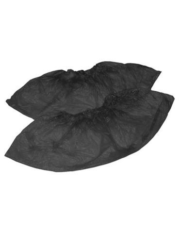 Бахилы полиэтиленовые Черные 50пар
