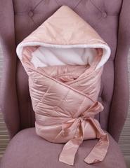 Комплект на выписку для девочек зимний Finland розовый