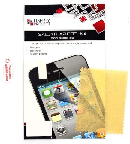 Защитная пленка для iPhone 5/5c/5s/SE Liberty Project