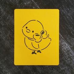 Цыпленок №10 с бантиком