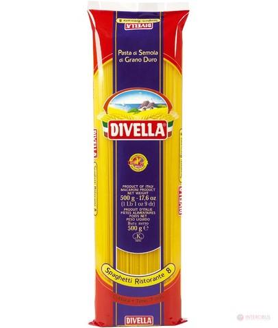 Макароны СПАГЕТТИ РИСТОРАНТЕ /бронза (Divella-Italy) Бахрушинъ 0,5кг