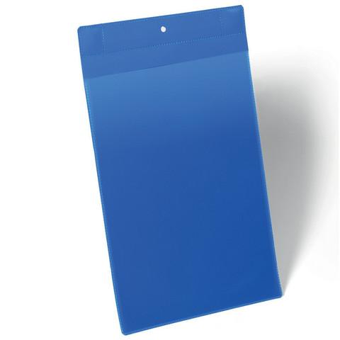 Карман для маркировки и документов Durable A4 с магнитным креплением вертикальный