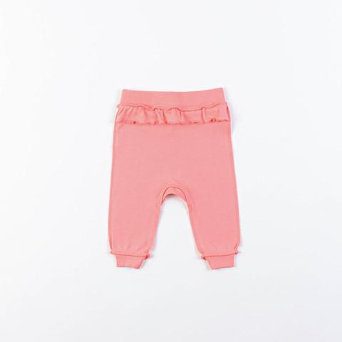 Ruffled leggings 0+, Coral