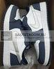 Nike SB x Air Jordan 1 Low 'Midnight Navy' (Фото в живую)