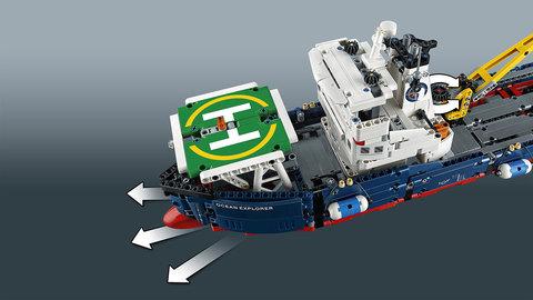 LEGO Technic: Исследователь океана 42064 — Ocean Explorer — Лего Техник