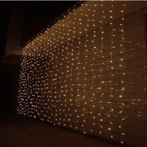 LED гирлянда штора 3 на 1,5 метра