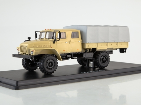 Ural-43206-0551 beige-gray 1:43 Start Scale Models (SSM)