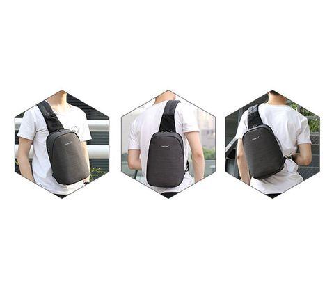 Картинка рюкзак однолямочный Tigernu T-S8061 Black - 4