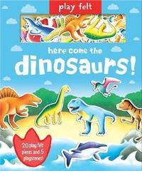 Play Felt Here come the dinosaurs!