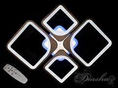 Светодиодная люстра с димером и подсветкой 100W