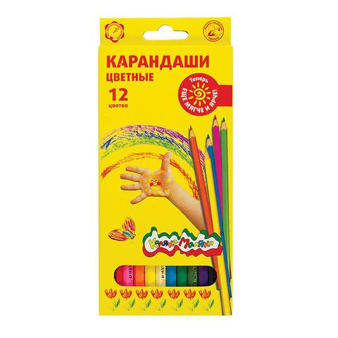Карандаши цветные Каляка-Маляка, 12 цветов, ККМ12