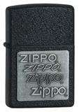 Зажигалка ZIPPO Black Crackle (363)