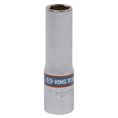 KING TONY (323511M) Головка торцевая глубокая шестигранная 3/8