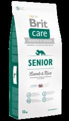 Корм для пожилых собак, Brit Care Senior All Breed, с ягненком и рисом