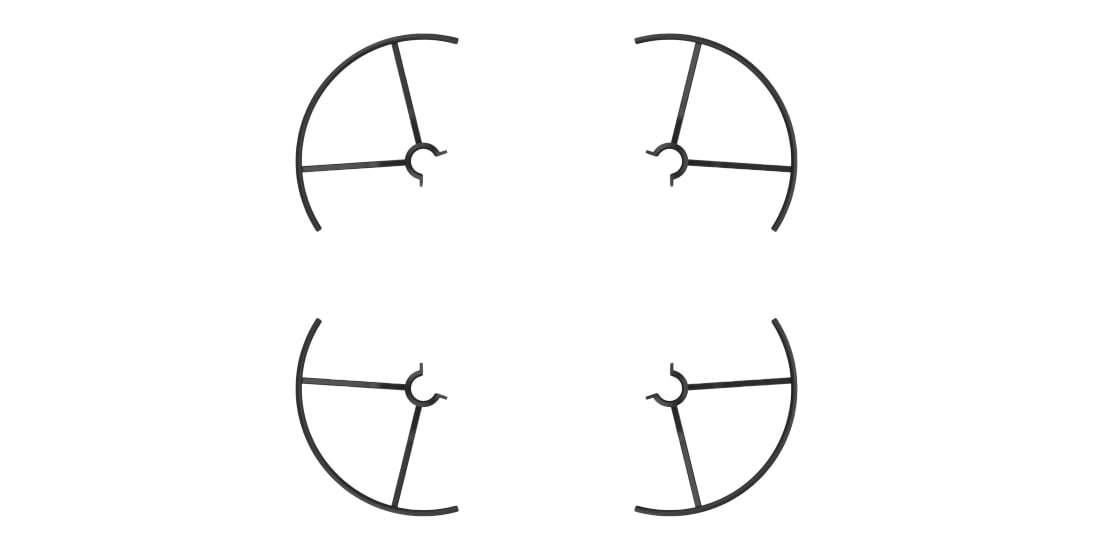 Защита пропеллеров DJI Propeller Guards for Tello (Part3)