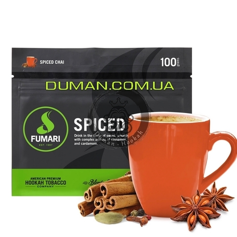 Табак Fumari Spiced Chai (Фумари Чай со Специями)   На вес 25г