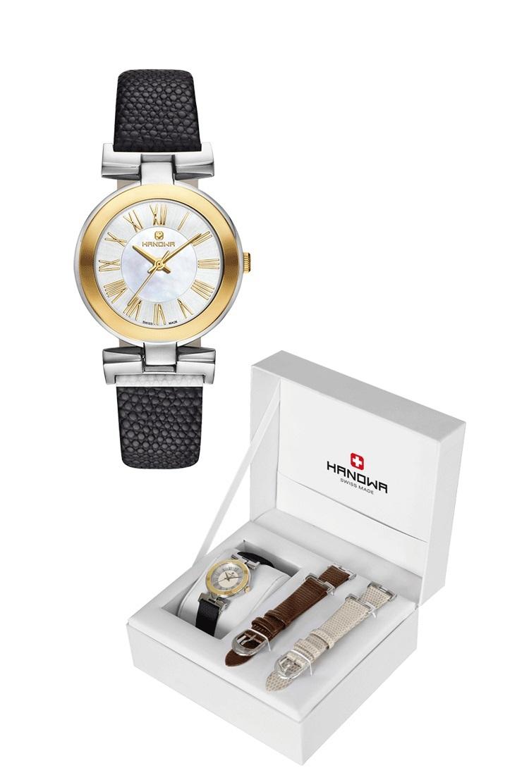 Женские часы Hanowa Twin set+2 ремешок 16-8007.55.001SET