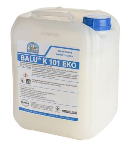 Средство для автоматической мойки посуды (концентрат) BALU K 101 EKO
