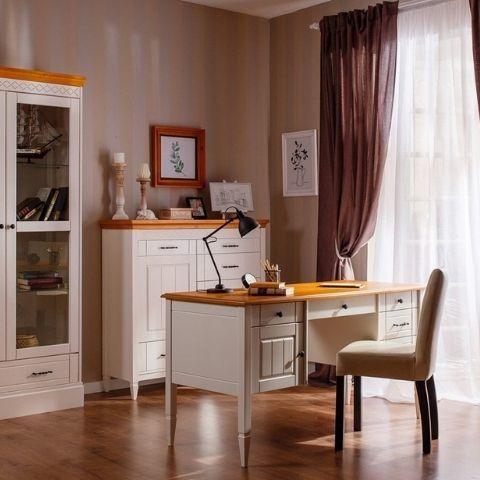 Письменный стол из массива сосны Дания 4